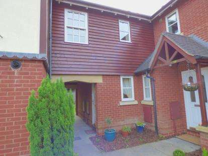 3 Bedrooms Terraced House for sale in Shelfield Close, Hockley Heath, Solihull, West Midlands