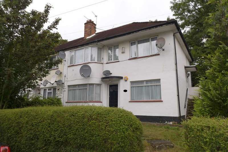 2 Bedrooms Maisonette Flat for sale in Sudbury Croft, Wembley, Middlesex