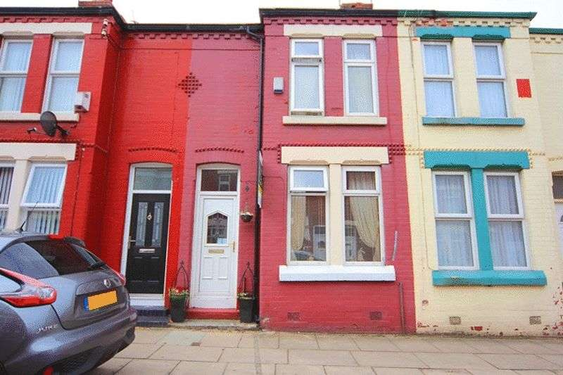 2 Bedrooms Terraced House for sale in Fernleigh Road, Old Swan, Liverpool, L13