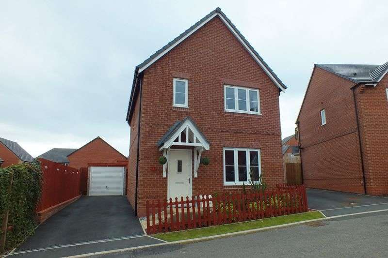 3 Bedrooms Detached House for sale in Rudyard Lake Grove, Brindley Village, Sandyford, Stoke-On-Trent