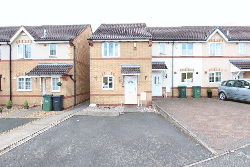 2 Bedrooms Terraced House for sale in Rowland Hill Drive, Tipton