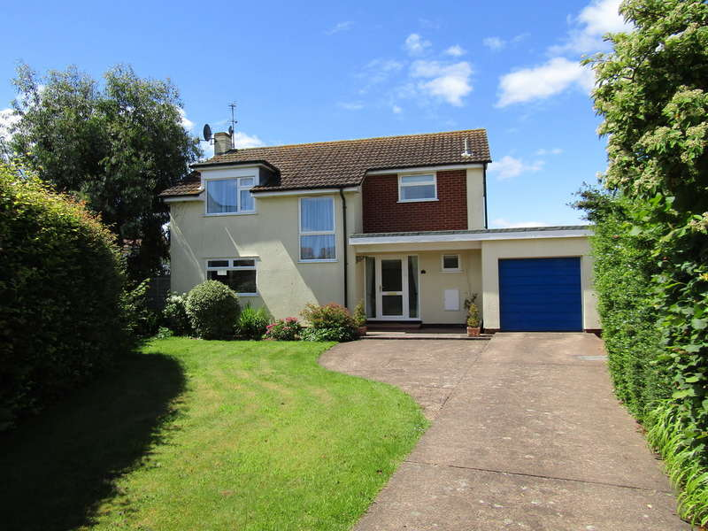 4 Bedrooms Detached House for sale in Hayes Close, Budleigh Salterton