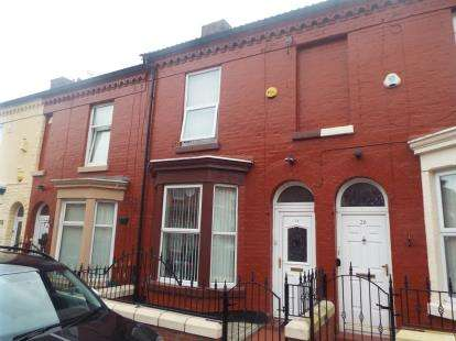 2 Bedrooms Terraced House for sale in Wrenbury Street, Liverpool, Merseyside, L7