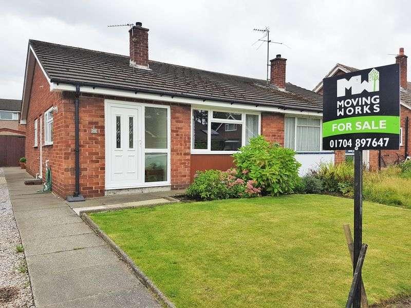 2 Bedrooms Semi Detached Bungalow for sale in Abbeydale, Burscough, Ormskirk