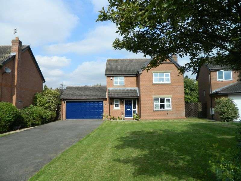 4 Bedrooms Detached House for sale in Fishermans Close, Sandbach
