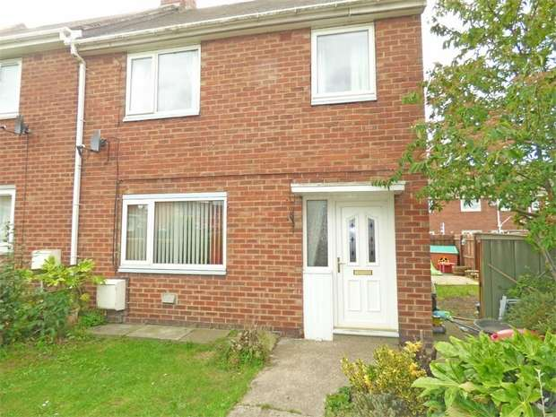 3 Bedrooms End Of Terrace House for sale in Frosterley Gardens, Stanley, Durham