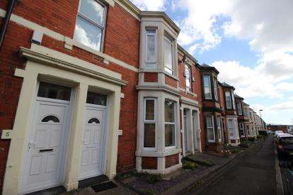 3 Bedrooms Flat for sale in Fairfield Road, Newcastle Upon Tyne, Tyne and Wear, NE2
