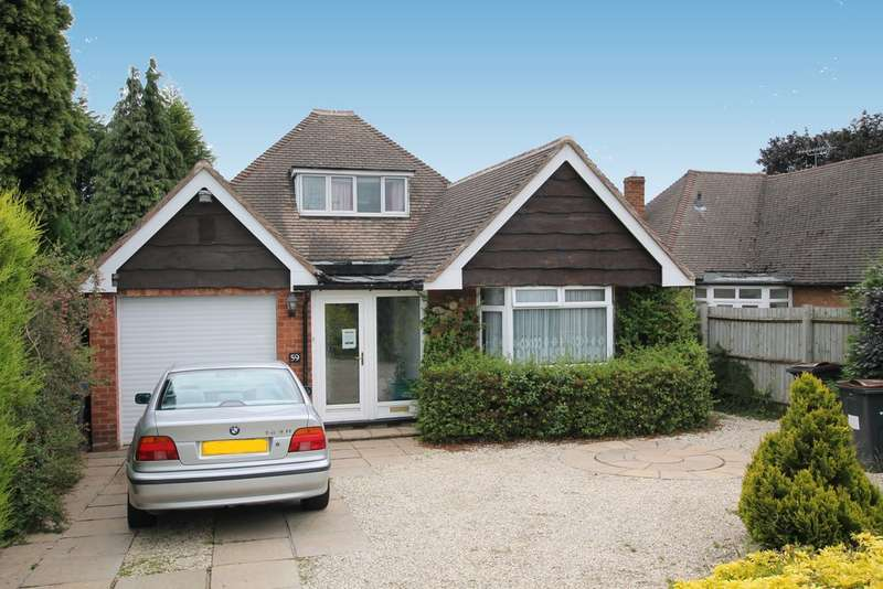 3 Bedrooms Detached Bungalow for sale in Conchar Road, Wylde Green Sutton Coldfield, B72 1LJ
