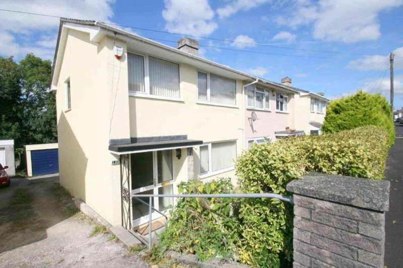 3 Bedrooms Semi Detached House for sale in Dudley Road, Plympton