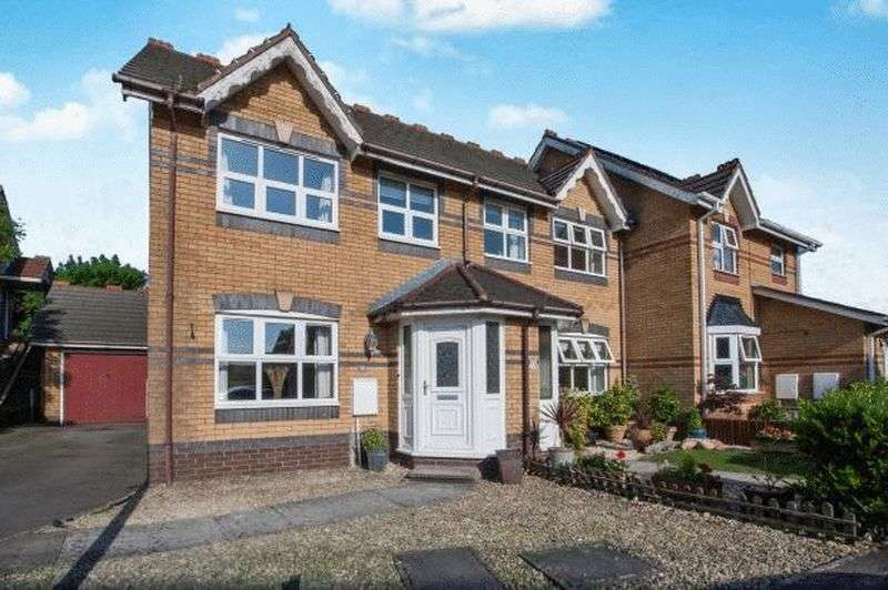 3 Bedrooms Semi Detached House for sale in Heron Gardens, Portishead