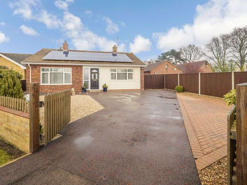 2 Bedrooms Detached Bungalow for sale in Olive Crescent, Horsford, Norwich