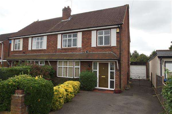 3 Bedrooms Semi Detached House for sale in Wendover Road, Burnham