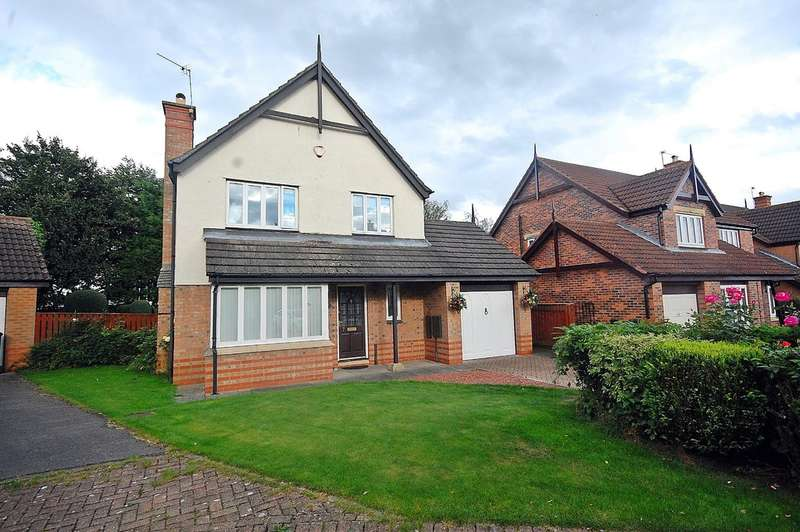 3 Bedrooms Detached House for sale in Suffolk Way , Pity Me, Durham