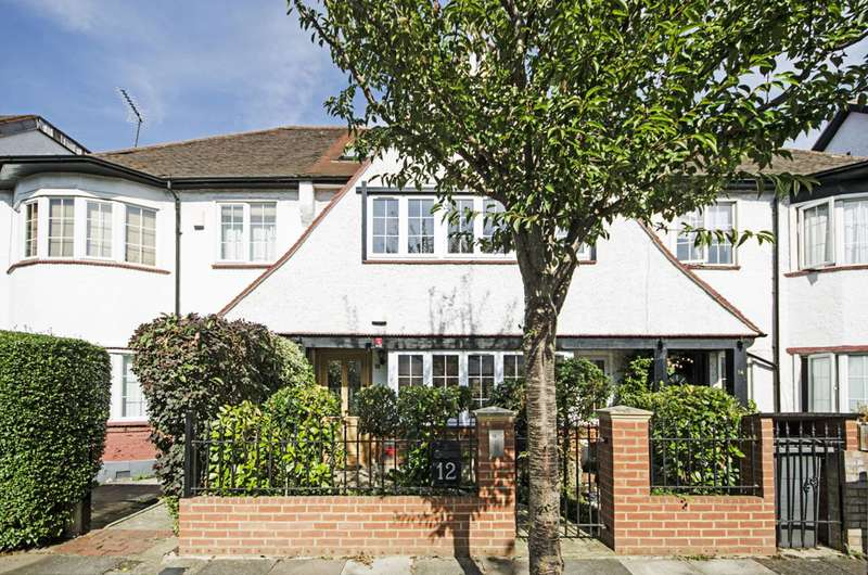 4 Bedrooms House for sale in Hampstead Gardens, Temple Fortune, NW11