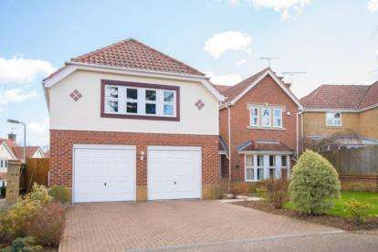 5 Bedrooms Detached House for sale in Poets Gate, Goffs Oak, Hertfordshire