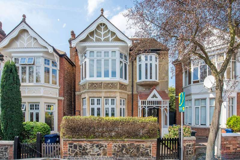 2 Bedrooms Flat for sale in Fordhook Avenue, Ealing Common, W5