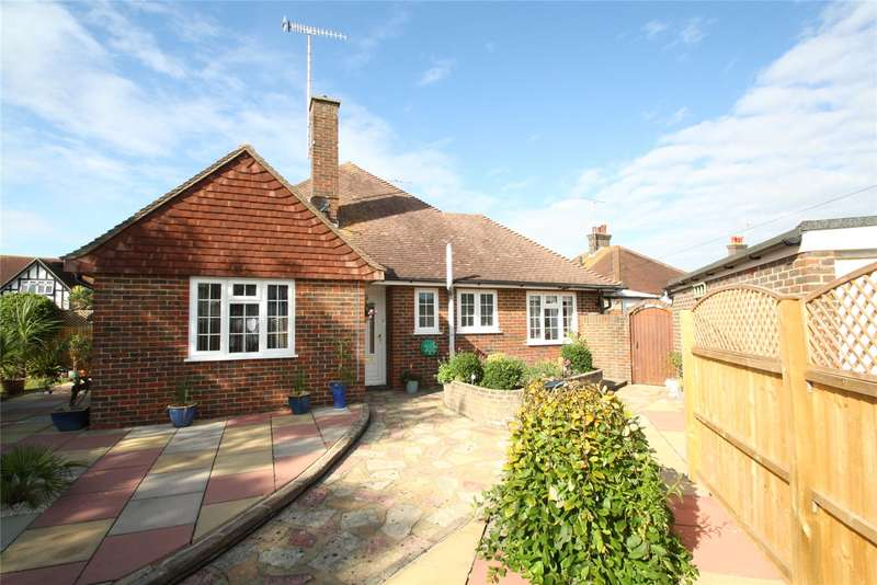 2 Bedrooms Semi Detached Bungalow for sale in Alinora Crescent, Goring By Sea, Worthing, BN12