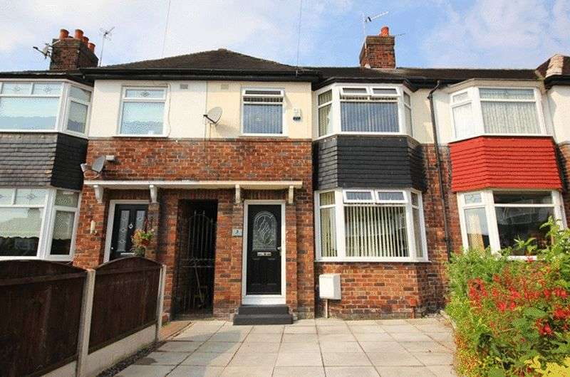3 Bedrooms Terraced House for sale in Molesworth Grove, Childwall, Liverpool, L16