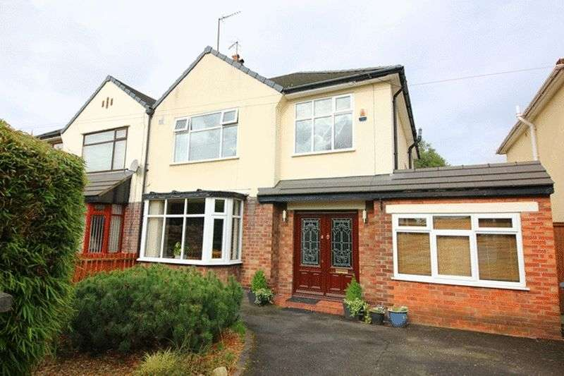 4 Bedrooms Semi Detached House for sale in Booker Avenue, Calderstones, Liverpool, L18