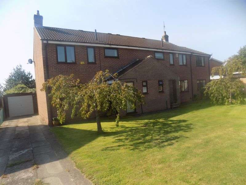 3 Bedrooms Semi Detached House for sale in Lexington Court, Tuxford