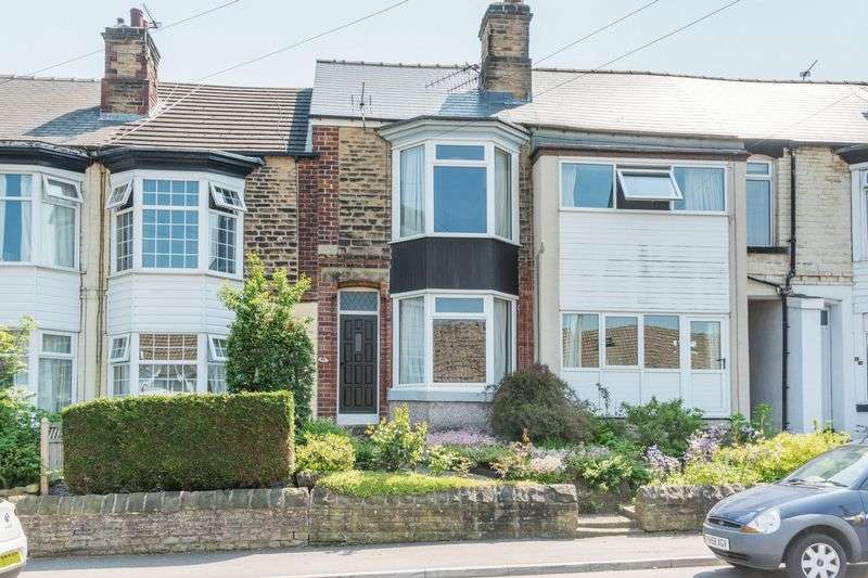 3 Bedrooms Terraced House for sale in Manvers Road, Walkley - NO CHAIN - Larger than Average Detached Garage