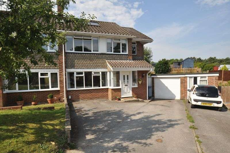 4 Bedrooms Semi Detached House for sale in Park Hill, Church Crookham