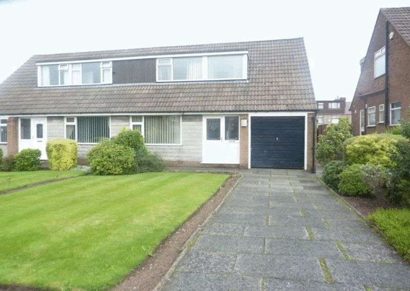2 Bedrooms Semi Detached Bungalow for sale in Rutherford Drive, Bolton