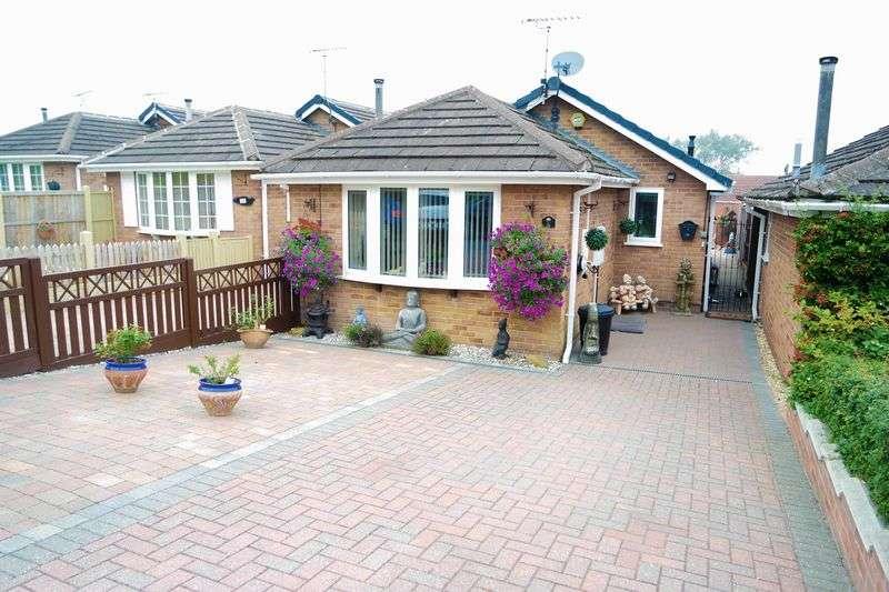 2 Bedrooms Detached Bungalow for sale in Hillside Road, Blidworth