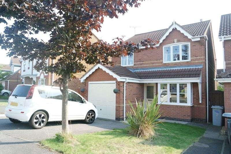 3 Bedrooms Detached House for sale in Amber Close, Rainworth