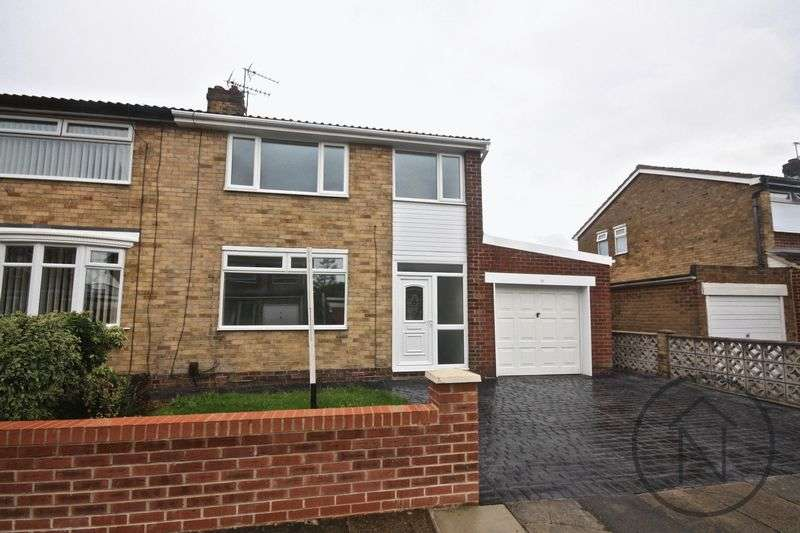 3 Bedrooms Semi Detached House for sale in Barton Crescent, Billingham