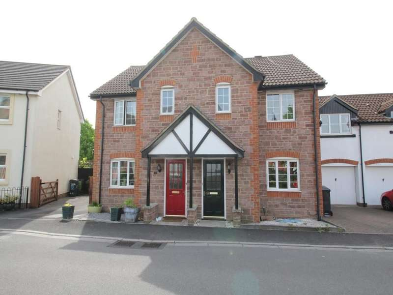 3 Bedrooms Semi Detached House for sale in Cashford Gate, Taunton, TA2