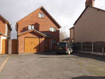 5 Bedrooms Detached House for sale in Chester Road, Oakenholt, Flint, Flintshire, CH6