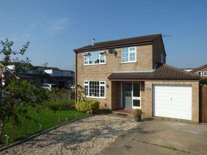 3 Bedrooms Detached House for sale in Wentworth Close, Heighington, Lincoln, Lincolnshire