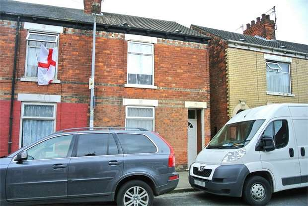2 Bedrooms Terraced House for sale in Estcourt Street, Hull, East Riding of Yorkshire