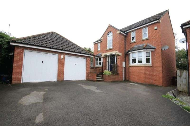 4 Bedrooms Detached House for sale in COLTSFOOT CLOSE, SWADLINCOTE