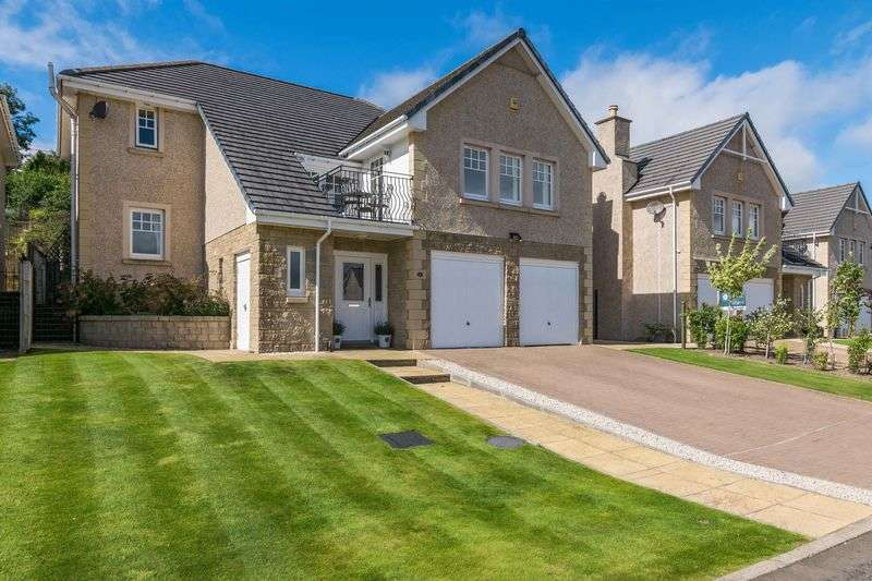 4 Bedrooms Detached House for sale in 6 Wedale View, Stow, Galashiels, TD1 2SJ
