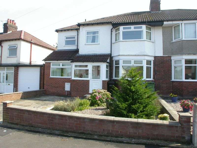 4 Bedrooms Semi Detached House for sale in CHEADLE HULME (MEADWAY ROAD)