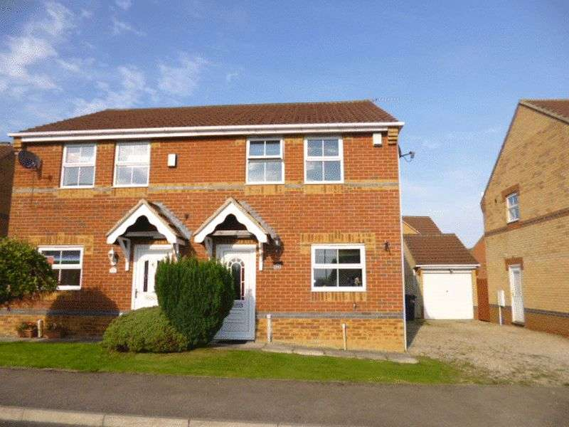 3 Bedrooms Semi Detached House for sale in Fairfield Court, Bishop Auckland