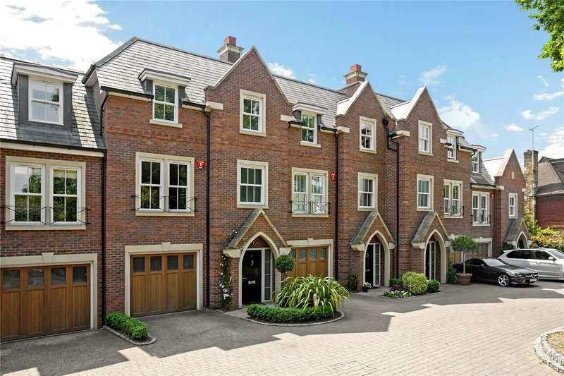 5 Bedrooms Terraced House for sale in Larchfield Close, Weybridge, Surrey, KT13