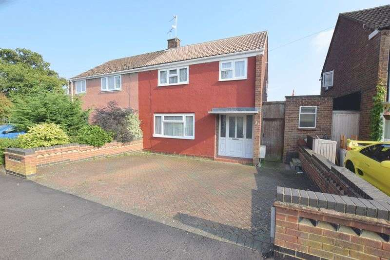 3 Bedrooms Semi Detached House for sale in Kenilworth Drive, Bletchley, Milton Keynes