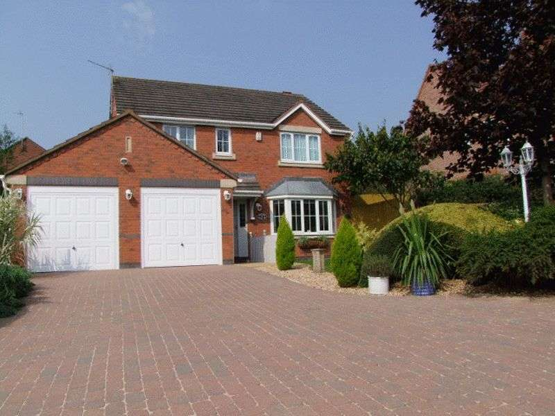 4 Bedrooms Detached House for sale in Clifton Way, Brizlincote Valley