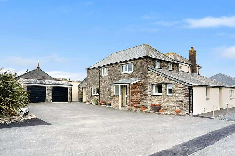 5 Bedrooms Detached House for sale in Treknow, Tintagel
