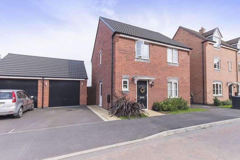 3 Bedrooms Detached House for sale in NEWHAM CLOSE, HARLOW FIELDS, MACKWORTH