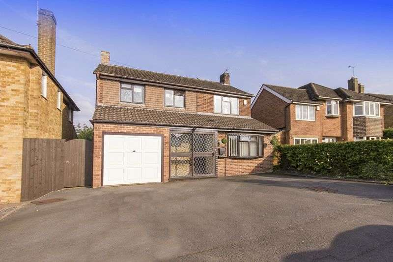 3 Bedrooms Detached House for sale in MELBOURNE CLOSE, MICKLEOVER