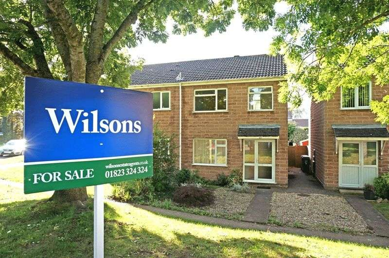 3 Bedrooms Semi Detached House for sale in Hudson Way, Taunton