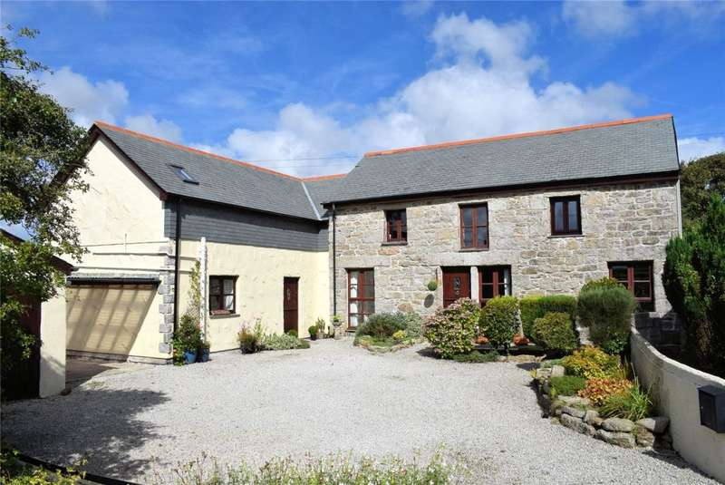 3 Bedrooms Barn Conversion Character Property for sale in Farms Common, Wendron, Nr Helston