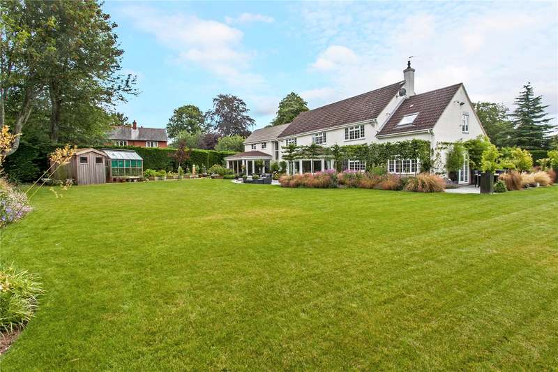 5 Bedrooms Detached House for sale in Southdown Road, Shawford, Winchester, Hampshire, SO21