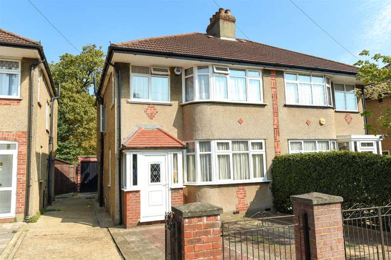 3 Bedrooms Semi Detached House for sale in Alderney Gardens, Northolt, Middlesex, UB5