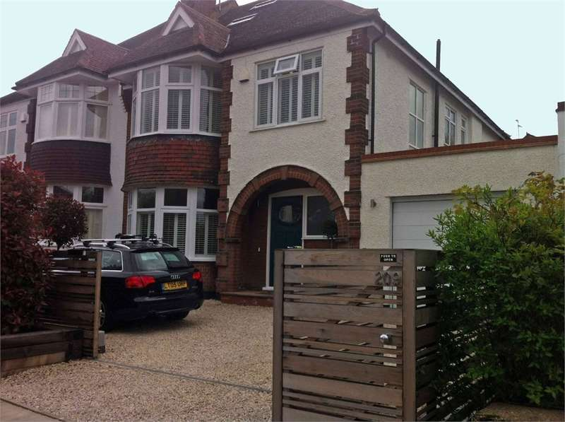 5 Bedrooms Semi Detached House for sale in Creighton Avenue, East Finchley, London