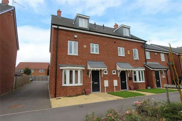 4 Bedrooms End Of Terrace House for sale in Monticello Way, Bannerbrook, COVENTRY